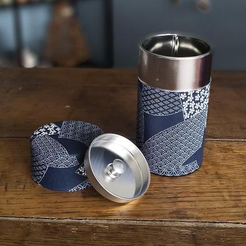 Boite à thé tissu japonais