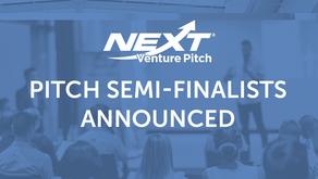 Semi-Finalist Pitch Companies Announced – NEXT Venture Pitch 2021