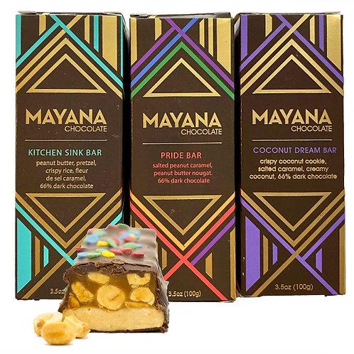 Mayana Chocolate Bars