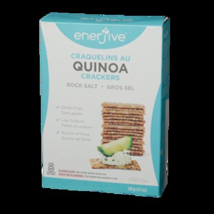 Enerjive Quinoa Crackers -Gluten Free
