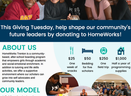 HomeWorks' Giving Tuesday Flyer