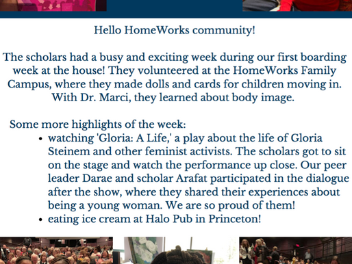 HomeWorks Week 4 Newsletter!