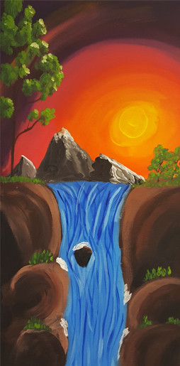 Peaceful Falls