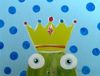 Princess and The Frog Frog