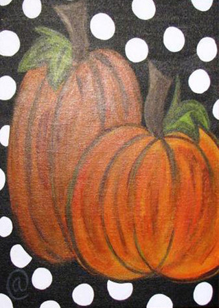 Polka Dot Pumpkins