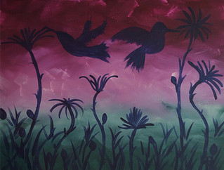 Hummingbird Shadows