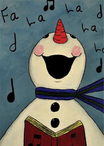 Fa La La Snowman