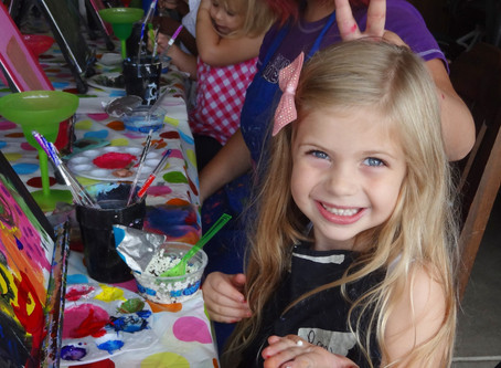 Kids 'n Canvas Summer Camp!