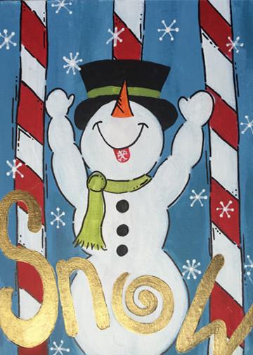 Victory Snowman