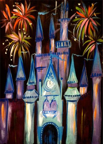 Fireworks Castle