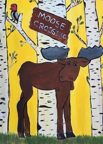 Moose Crossing