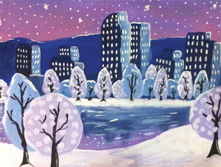 Winters Night In Denver