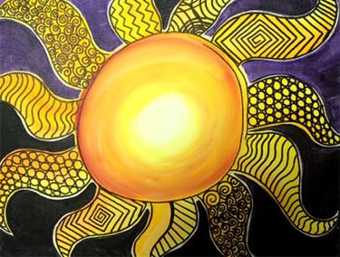 Doodle Sun