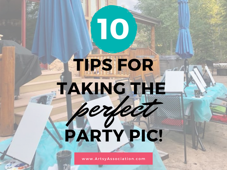 Top 10 Tips for Taking the Perfect Party Pic!
