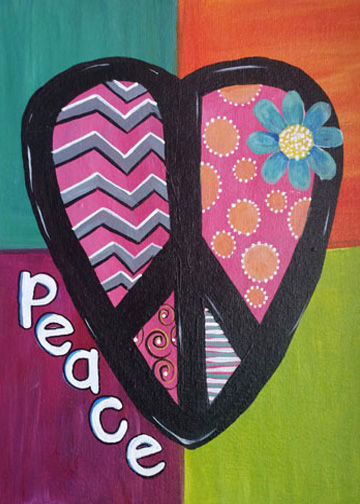 Peace, Love and Happiness with Victoria!