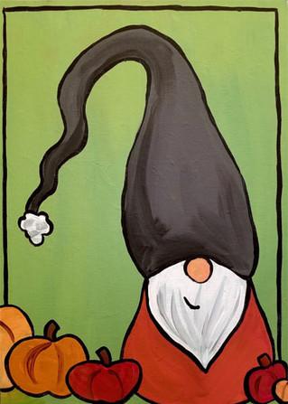 Pumpkin Spice Gnome