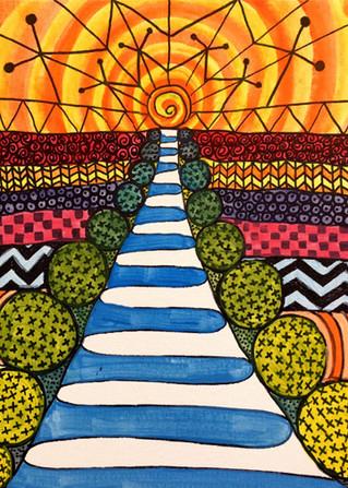 Doodle Day Sidewalk
