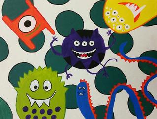 Polka Dot Monsters