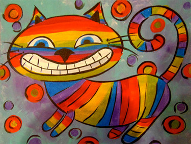 Rainbow Kitty