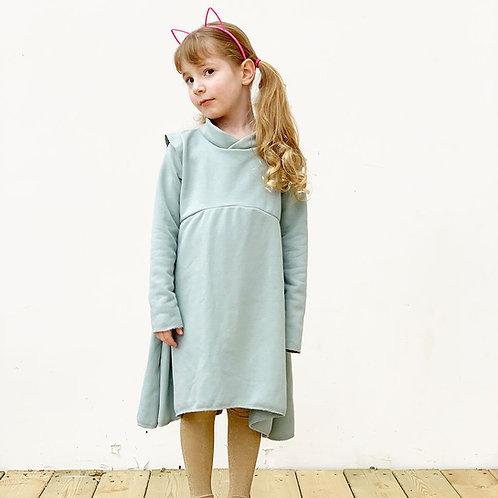 שמלה עבה מסתובבת - פסטל