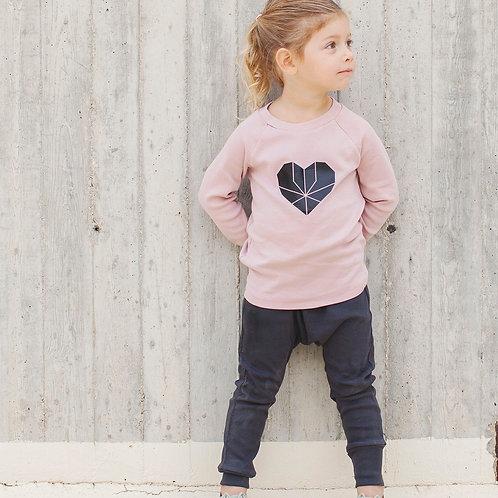 מכנס בגזרת גטקס - אפור פחם ילדים