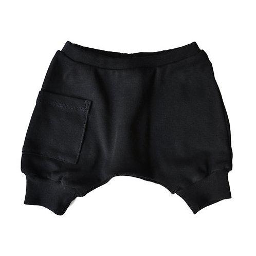 מכנס בלון קצר שחור