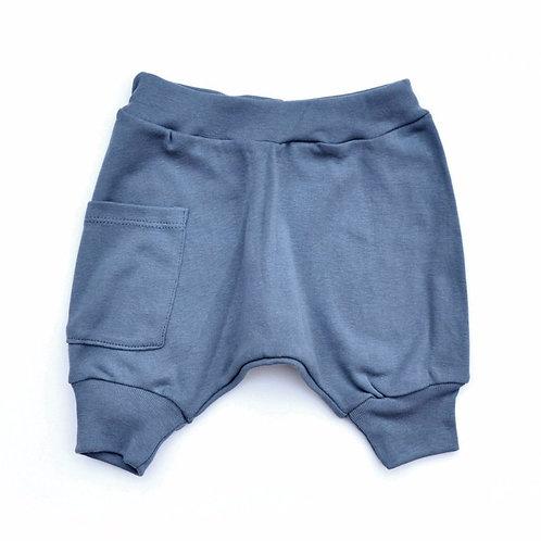 מכנס בלון קצר ילדים כחול
