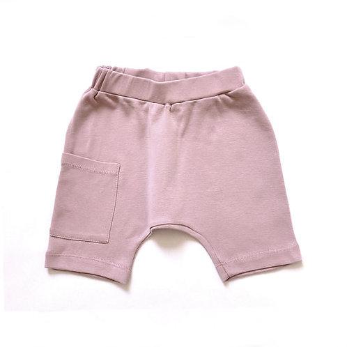 מכנס שק קצר ילדות ורוד