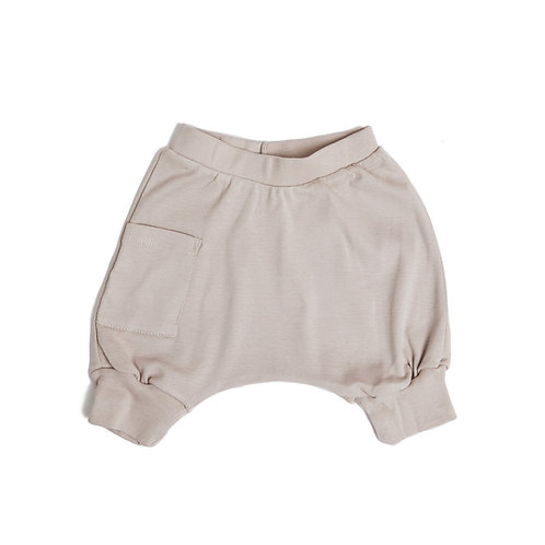 מכנס בלון קצר ילדים מוקה