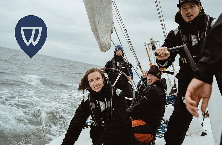 Hart am Wind Logo- und Website-Entwicklu