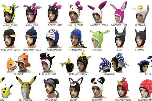 หมวกฮู๊ดสำหรับดำน้ำลึก Diving Hoods (แบบที่ 15-28)