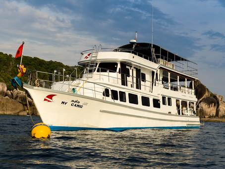 MV Camic (Similan 4 days 4 nights liveaboard 15 dives)