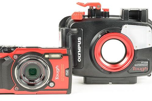 TG-5 Set (กล้องถ่ายรูปพร้อมเคสกันน้ำ)