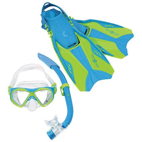ชุดอุปกรณ์ดำน้ำตื้นสำหรับเด็ก Aqualung รุ่น Buzz Set