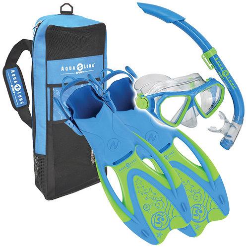 ชุดอุปกรณ์ดำน้ำตื้นสำหรับเด็ก Aqualung รุ่น Rondo Set Junior