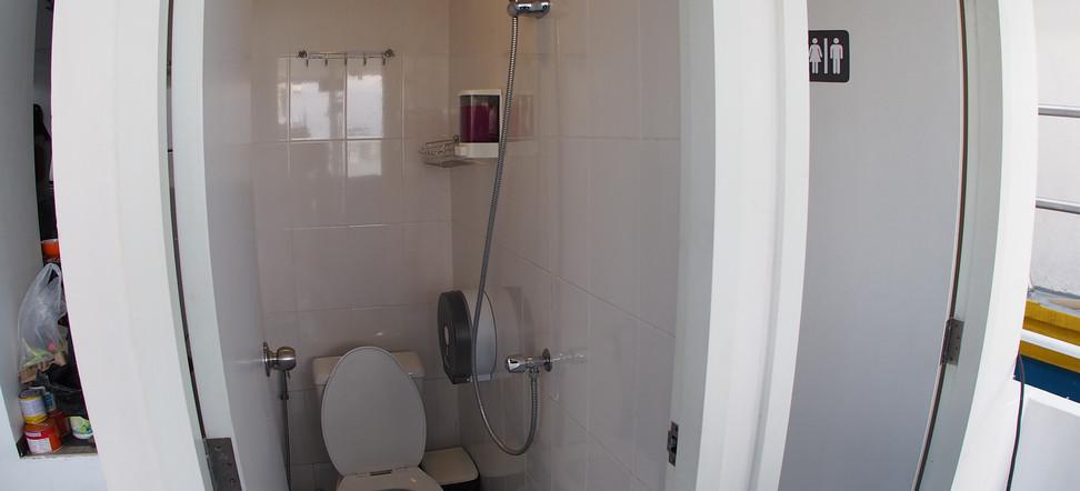3 Toilets Onboard
