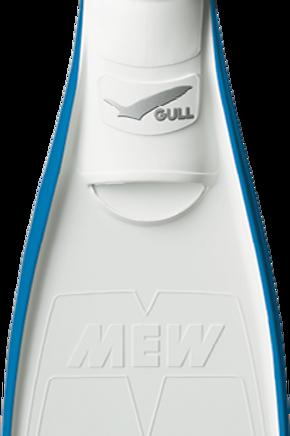 ตีนกบดำน้ำ Gull Mew Fin รุ่น Super Soft Mew (2019-2020's new collection)