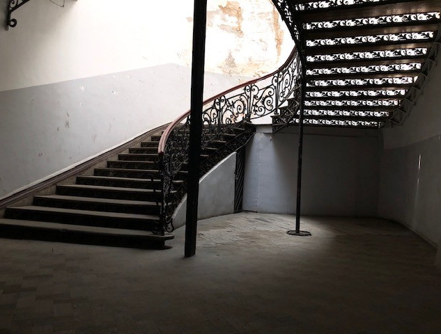 the spiral staircase, tbilisi 2020