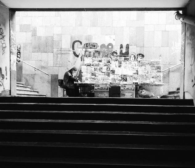 the book seller, tbilisi 2020