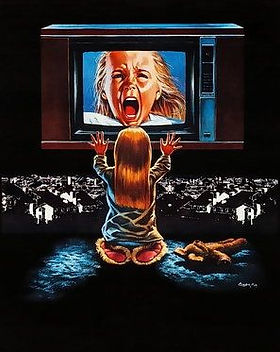 Poltergeist poster, t-shirt, mouse pad.j