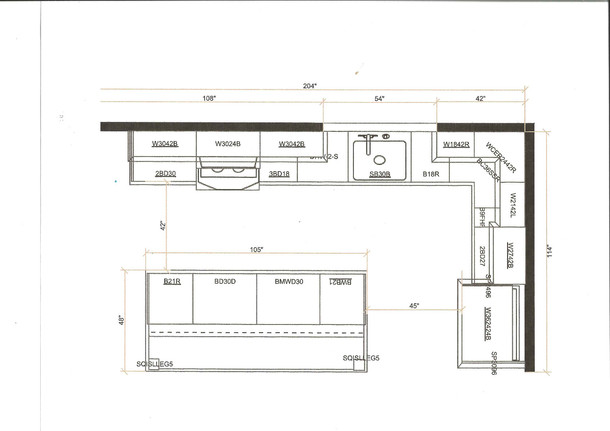 In Most Cases The Drawings With The Exact Measurements And Layout Of A Kitchen Are Provided By The Cabinet Supplier