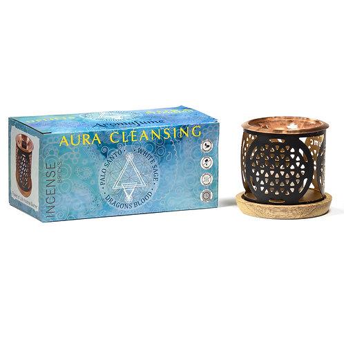 Coffret d'encens nettoyant Aromafume Aura