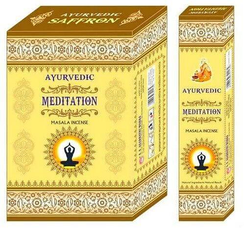 Encens Ayurvedic Méditation 15g