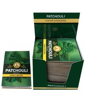Papier d'encens Patchouli