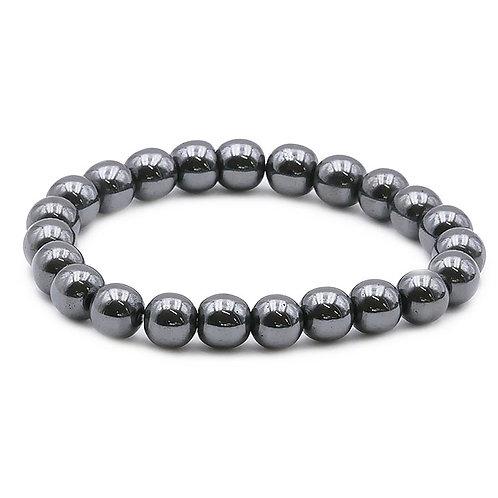 Bracelet Boule 08mm Hématite