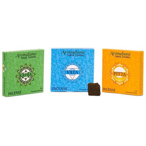 Briques d'encens Aromafume confection 3 dosha