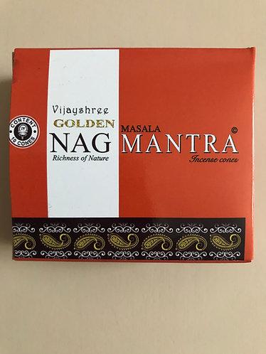 Encens Golden cônes Nag Mantra