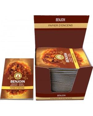 Papier d'encens Benjoin -