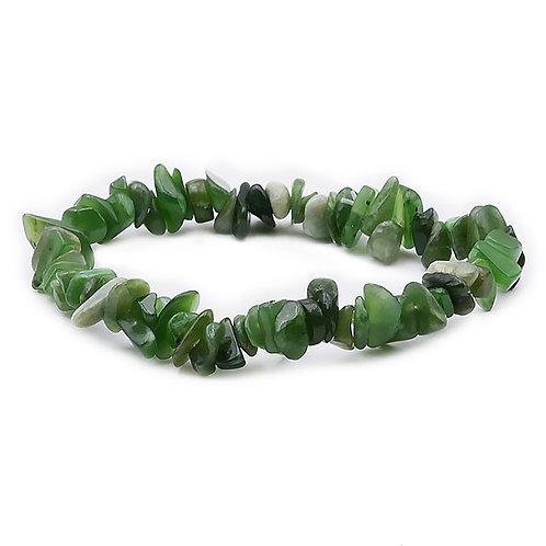 Bracelet Baroque Jade Néphrite