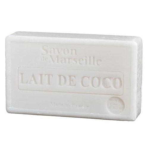 Savon de Marseille naturel lait de coco